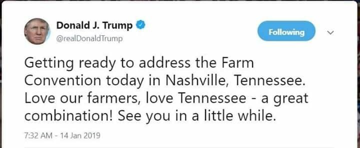 Doesn't even know where he's going today! #clueless45 The convention is in New Orleans and WE DON'T WANT YOU HERE!! #TrumpResign #TraitorTrump #ImpeachTheMotherFcker <br>http://pic.twitter.com/jKlYoAxftx