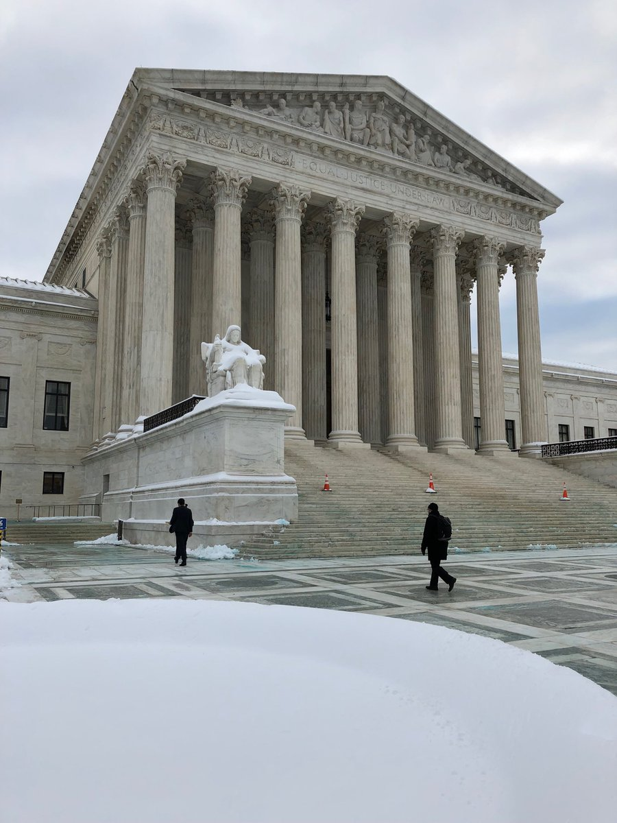 #SCOTUS shoveled out and open for bidness (whether you think that's a good thing or not)