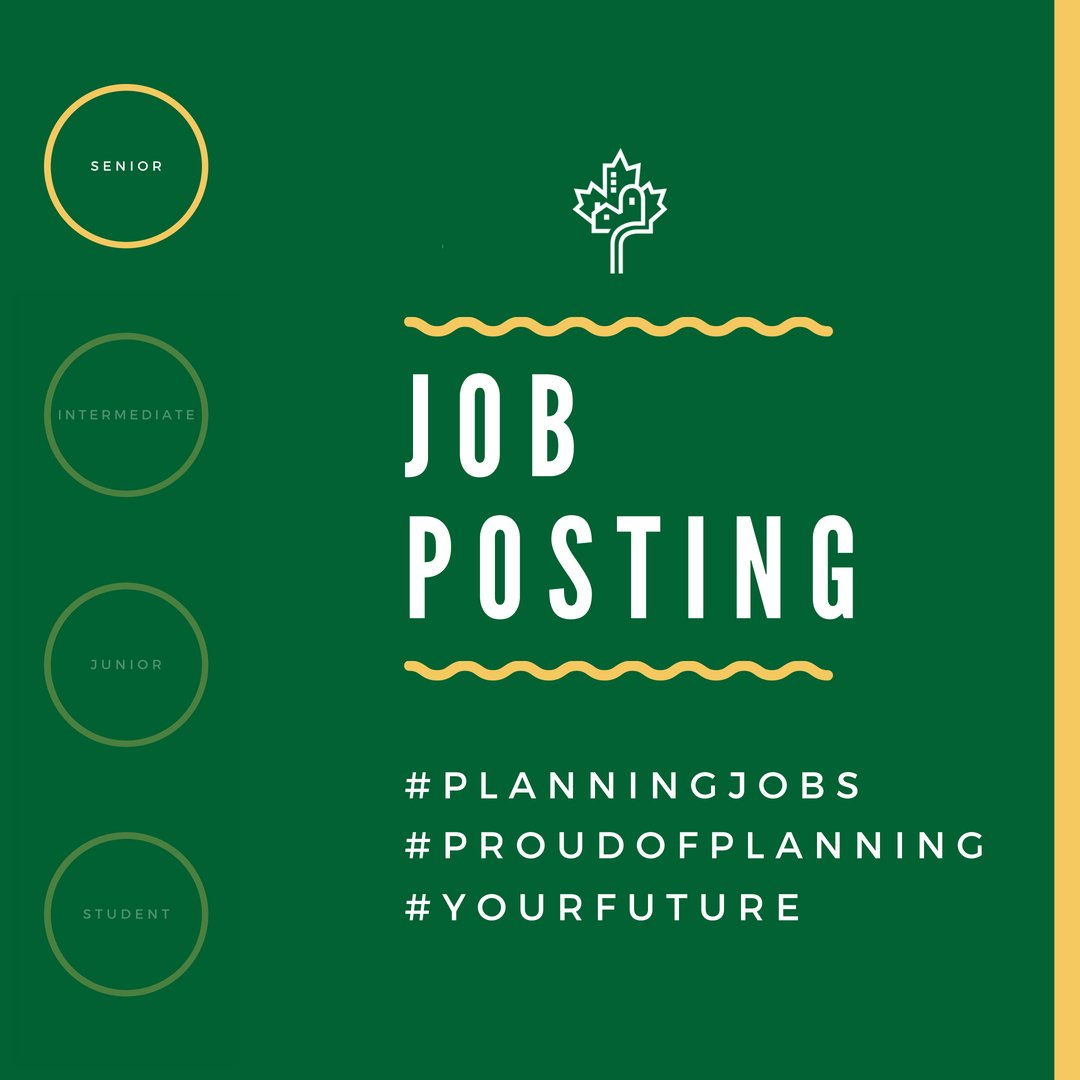 #careeropportunity The City of Beaumont is seeking a Senior Current Planner. For details, and to apply, visit: https://bit.ly/2CvLMjV  #cdnplanners @T4XBeaumont