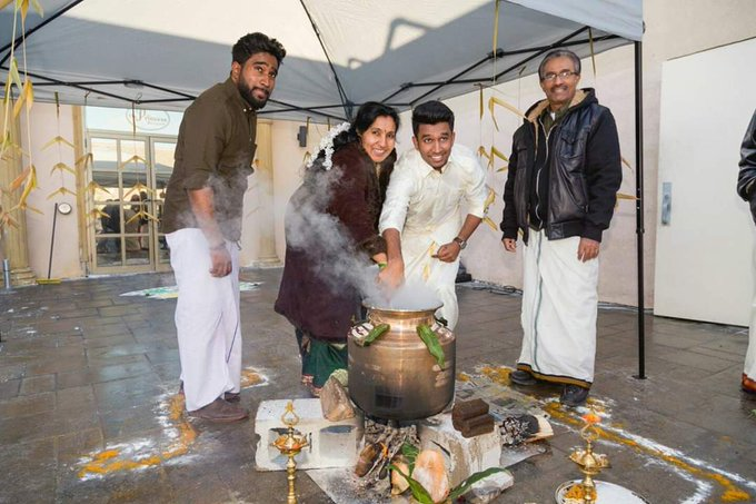 Happy #ThaiPongal and Tamil new year to everyone celebrating these wonderful festivals. Thai Pongal is an important festival for the Tamil people as it marks the end of the harvest season and the beginning of the Tamil calendar year. ☀🗓🌾🐮 #TamilHeritageMonth Photo