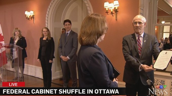 WATCH LIVE Federal cabinet shuffle at Rideau Hall Photo