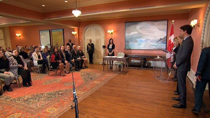 WATCH LIVE: Prime Minister Justin Trudeau shuffles his federal cabinet at Rideau Hall in Ottawa: #cdnpoli Photo