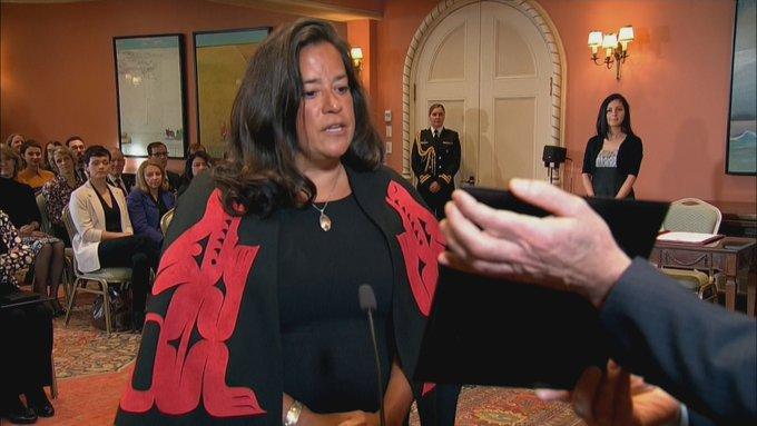 Jody Wilson-Raybould @Puglaas becomes Minister of Veterans Affairs #cdnpoli #cabinetshuffle Photo