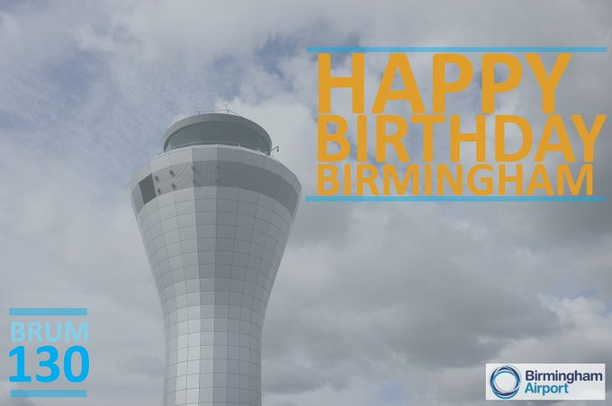 Happy Birthday Birmingham! Today, we celebrate 130 years of being a great city! #Brum130 Photo
