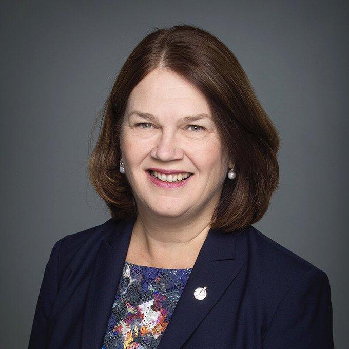 .@JanePhilpott devient présidente du Conseil du Trésor : Photo