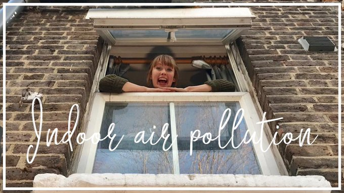 How often do you open your windows? It is the best way of cleaning your air and making sure your house stays free of damp and mould. #IndoorAirPollution 💨💚 #cleanairstrategy Photo