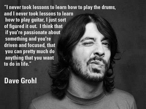 Happy 50th Birthday to Dave Grohl, who gets it right. Again. Photo