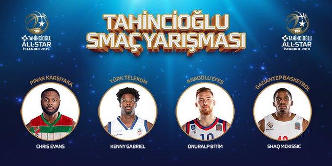 #TahinciogluAllStar2019 | Tahincioğlu Smaç Yarışması'na katılacak oyuncular netleşti! #BSL Fotoğraf