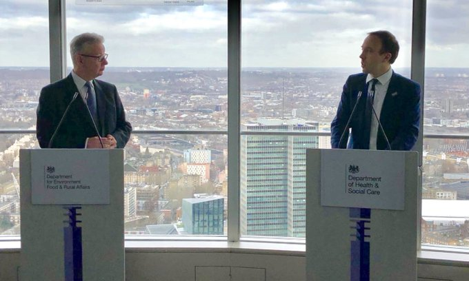 ICYMI: Launching our #CleanAirStrategy with @michaelgove this morning at BT Tower. Air pollution is the biggest environmental killer & we must act. My speech here: Photo