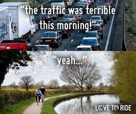#MondayMotivation > Join us to help reduce pollution on our streets (and make your commute much ) #CleanAirStrategy Photo