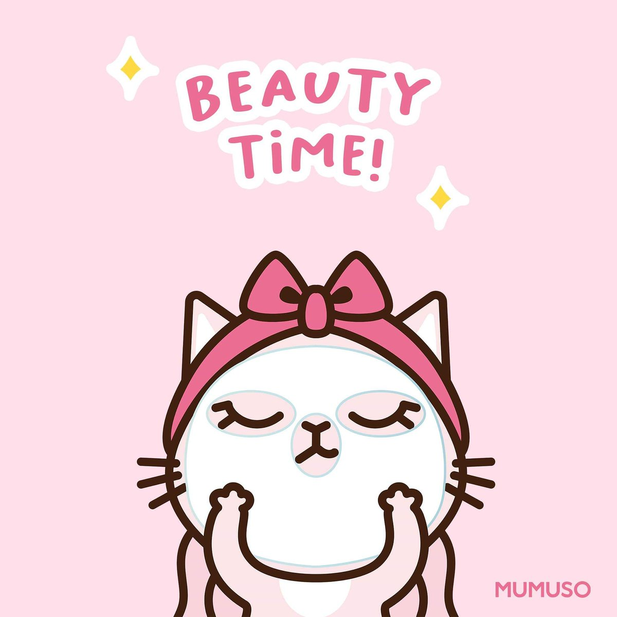 Stressed Monday? Put on your favorite #Mumuso face masks and chill out! 😘