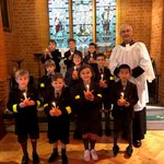 Pre-Prep and Junior School boys enjoying their annual Christingle Service and also celebrating Epiphany. One boy from each class gets to make their very own Christingle that is lit during the service.  #christingle #12daysofchristmas #Epiphany