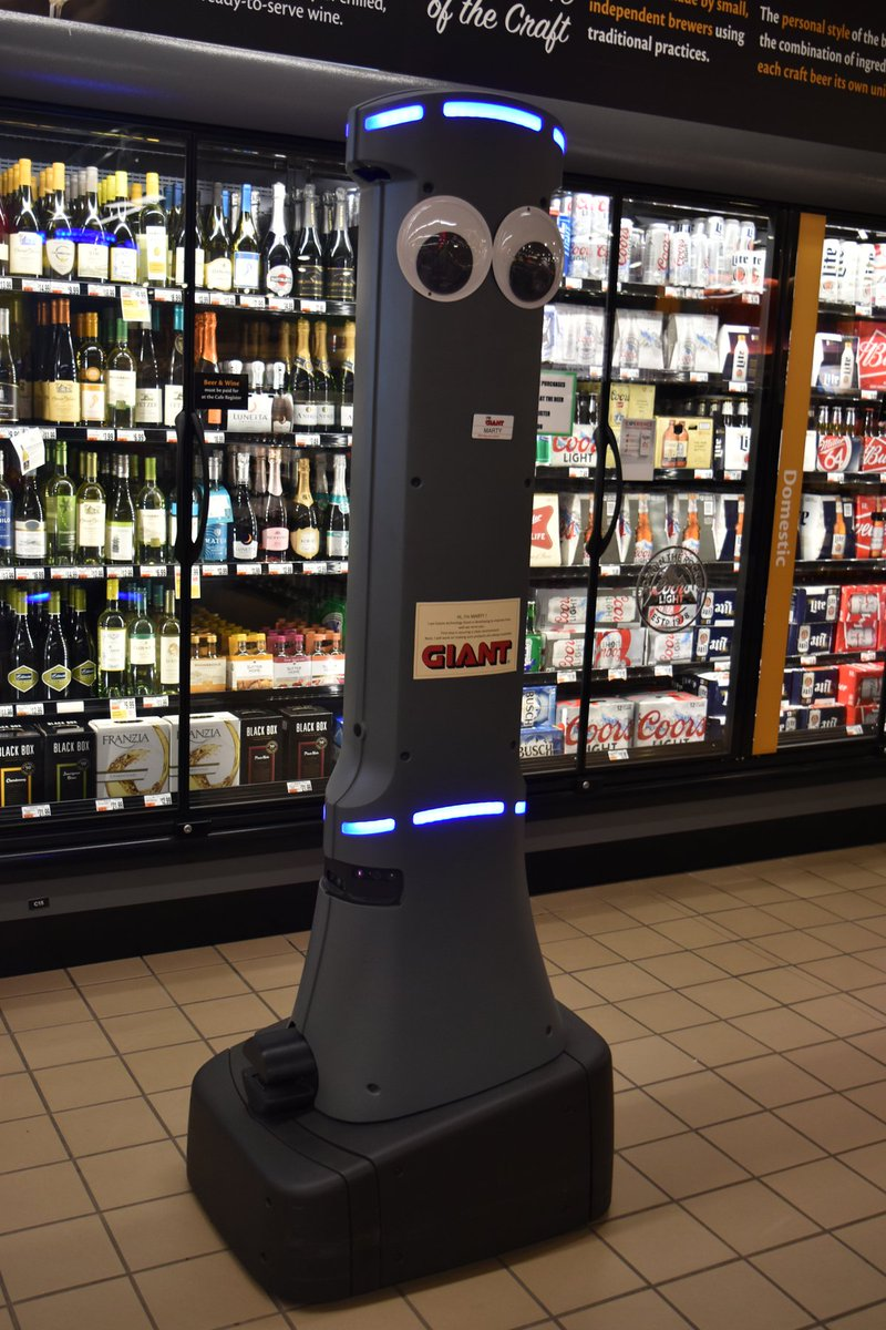 Giant Food Stores will place robotic assistants at 172 locations, company says