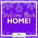 We hope your break was full of relaxation and the spirit of the holiday season! Welcome home! #HPU365 #HPUFamily