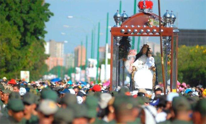 ¡UNIDOS EN LA FE Y LA ESPERANZA! Divina Pastora: una devoción que crece cada día -► Foto