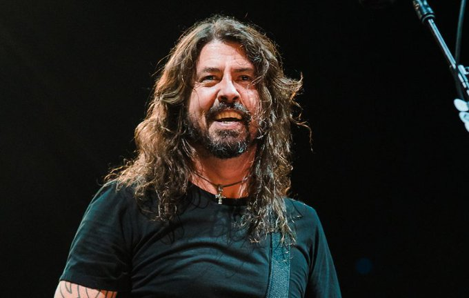 Happy 50th birthday to the legendary Dave Grohl.