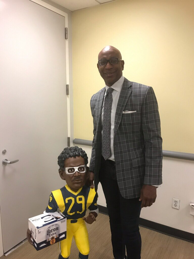 Eric Dickerson's photo on #nflplayoffs