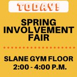 TODAY! TODAY! TODAY! Stop by the Slane Gym to learn more about joining one of HPU's 200+ campus organizations. #GetInvolved #HPU365