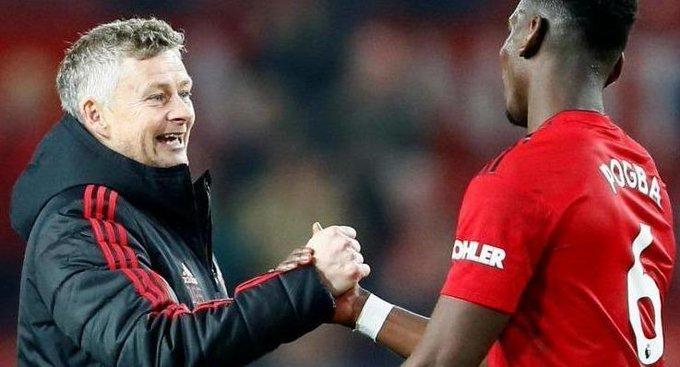 Pogba takes a swipe at Jose Mourinho as he showers Solskjaer with praise Photo