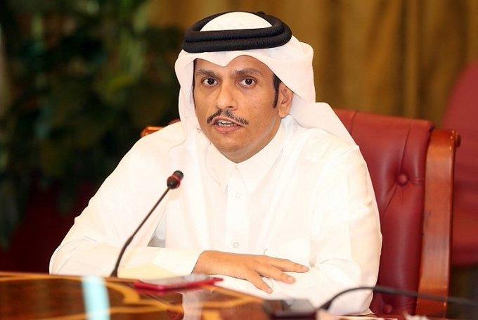 عاجل | وزير الخارجية القطري تعليقاً على زيارة بن علوي: مستعدون لتفعيل لجان مجلس التعاون الخليجي صورة فوتوغرافية