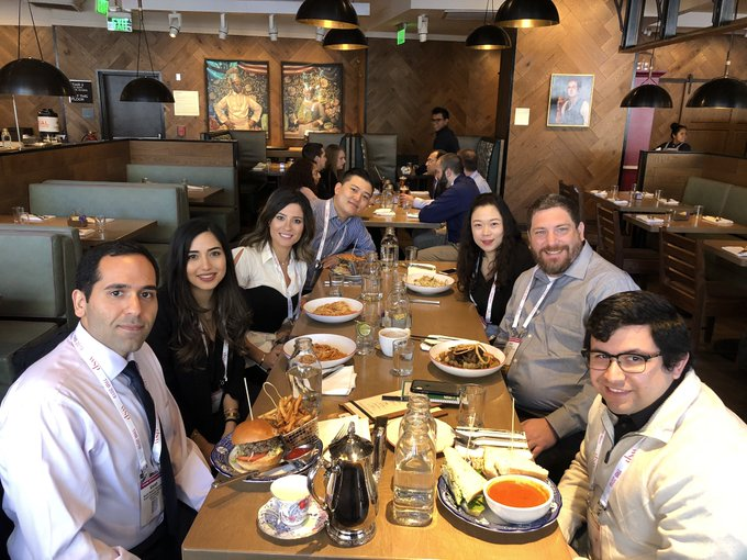 Our lab had lunch at Farmers and Distillers @FoundingFarmers today in DC. Great opportunity to take a break from the craziness of #TRBAM and enjoy each other's company. Photo