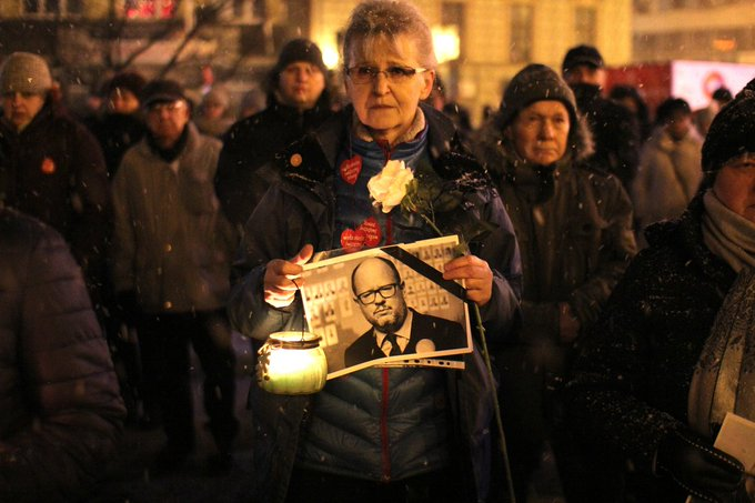 Quo vadis, Europa? #PawelAdamowicz Foto
