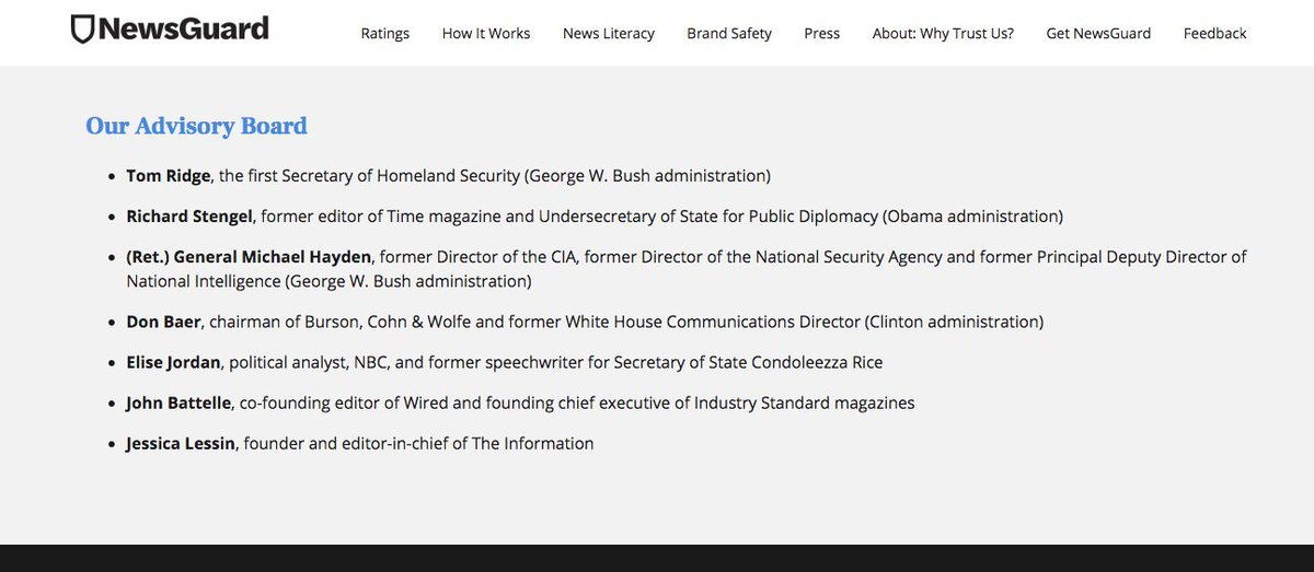 Microsoft adds neocon app 'NewsGuard' to its Edge webrowser by default pushing U.S. security state news imperialism across the world. Gives green tick rating for Voice of America &  Fox News but red mark for  des@wikileakspite admitting perfect accuracy. https://t.co/gn4Cq22507