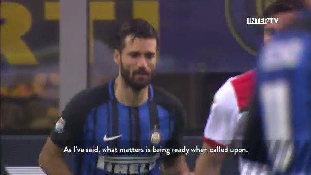 🗣 | Antonio #Candreva tentang kemenangan pada babak 16 besar #CoppaItalia  📺 @Inter_TV ⚽️ #InterBenevento   #FCIM