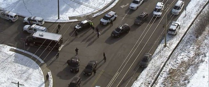 DEVELOPING: Active shooter incident reported at UPS facility in southern New Jersey, the company says. Photo