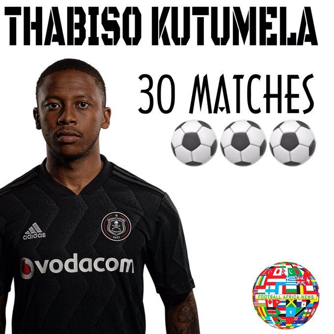Thabiso Kutumela przechodzi z Orlando Pirates do Maritzburg United. #Mercato Photo