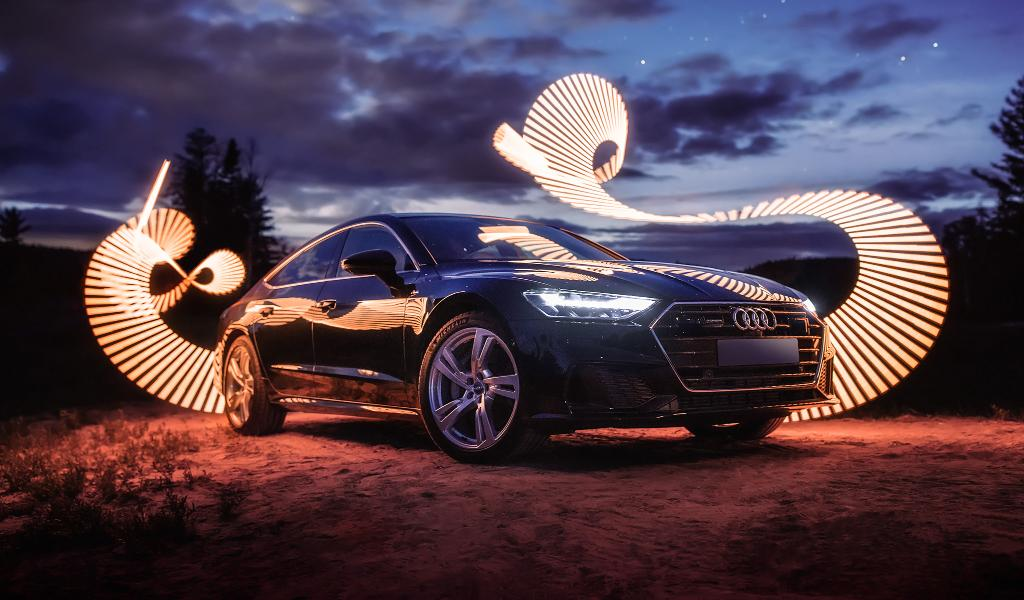 When you move to the country just to have a longer drive into town. #AudiA7