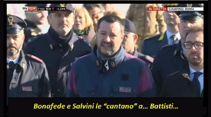 Salvini e Bonafede Foto