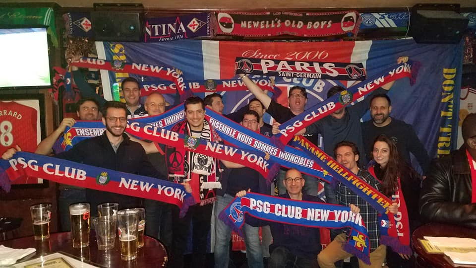 The crew for #ASCPSG at @FFactoryNY 😍💪🔴🔵
