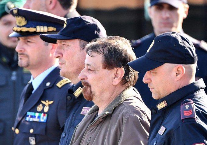 Cesare Battisti cumprirá pena em prisão de segurança máxima na Sardenha Foto