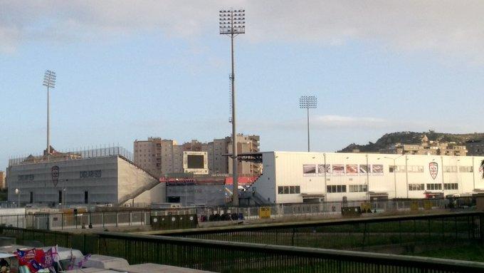 Tutto pronto alla Sardegna Arena per #CagliariAtalanta, sulla partita inciderà il forte vento di maestrale che soffia su Cagliari Foto