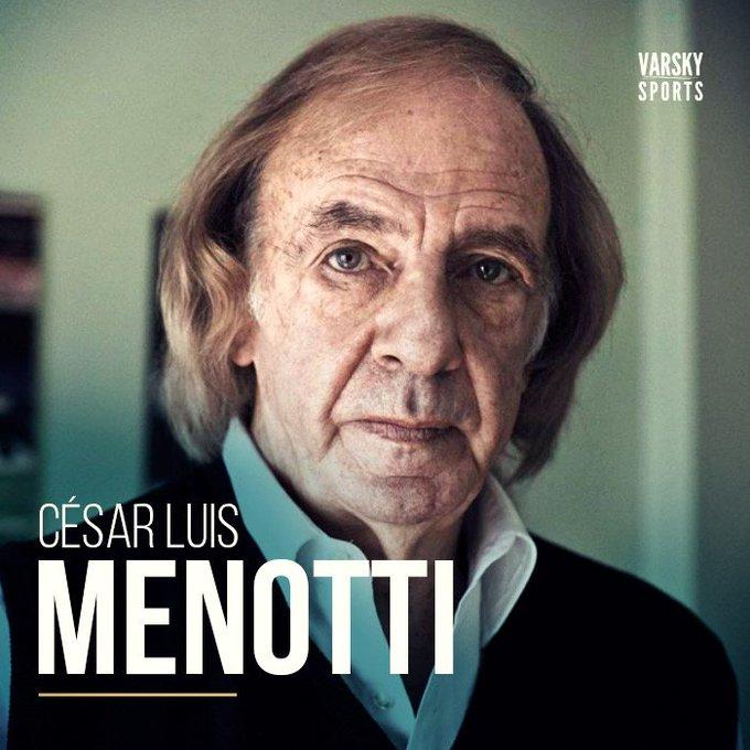 ATENCIÓN! Comunicaron desde AFA que César Luis Menotti será el Director de Selecciones Nacionales a partir del 1 de febrero. Foto