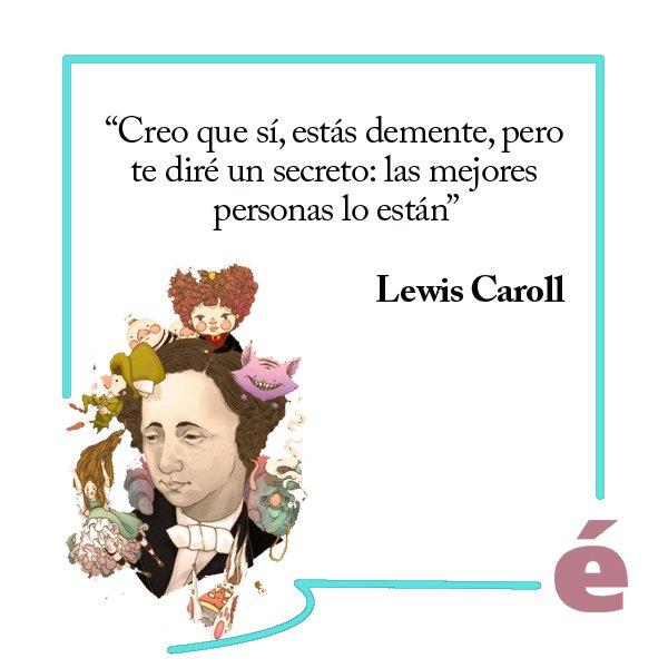 Un día como hoy, en 1898, falleció un icono de la literatura universal: Lewis Carroll Foto