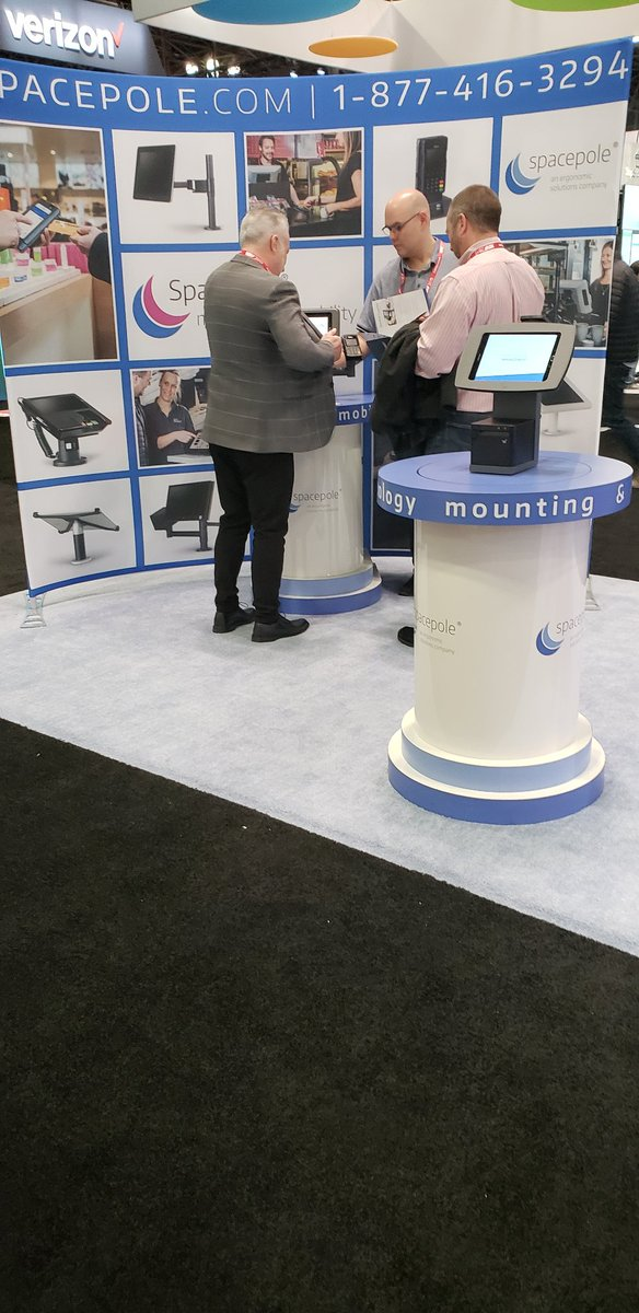 test Twitter Media - Helping retailers create great customer experiences  @SpacePole_Inc  @Ergonomic_Sols    #mounting #mobility #POS #NRF2019 https://t.co/XyMw2RtkUw