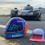 Are you ready? Thanks @BellRacingEU and @Kimoa for the special #Daytona24 👌