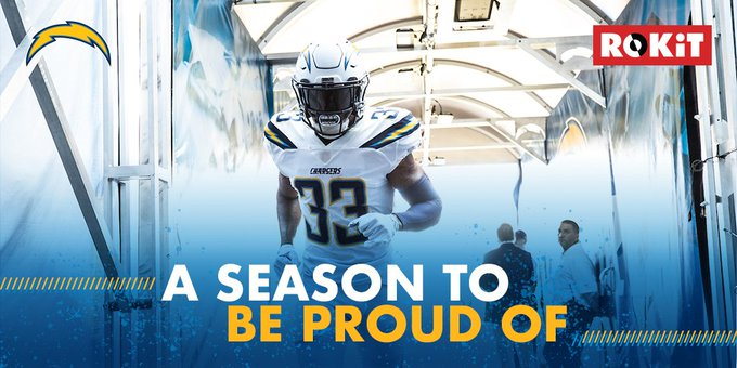 Congratulations to the @Chargers on an incredible season. #FightForEachOther Foto