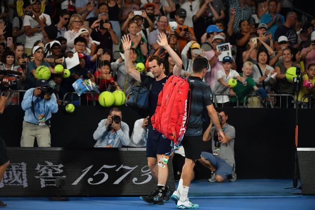 Andy Murray : «Une manière brillante de baisser le rideau» après sa défaite à l&#39;Open d&#39;Australie  http:// ow.ly/Bn6Q30nj6B0  &nbsp;  <br>http://pic.twitter.com/EG3ApjOnpP