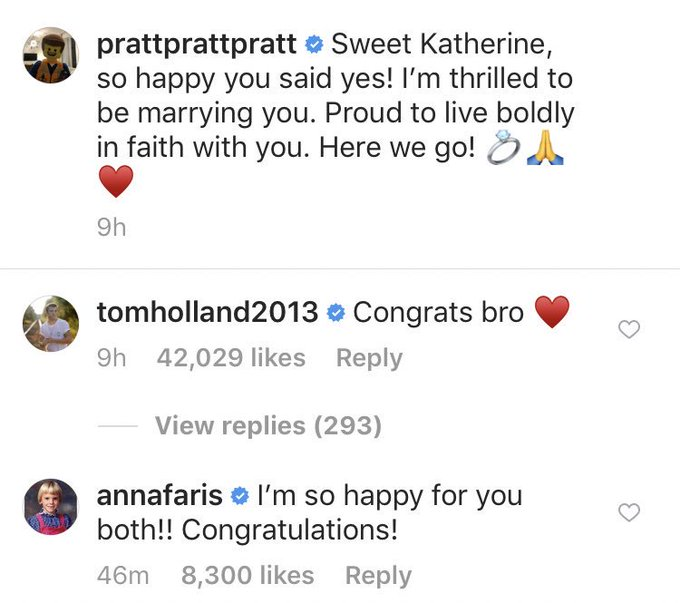 OMG!!! I hope I have an ex as supportive as Anna Faris is to Chris Pratt!!! People are angry at Chris but Anna is happy for Chris!!! She made me cry! Photo