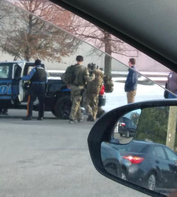 BREAKING: Cops confirm TWO people have been taken hostage at a #UPS facility in #NewJersey Photo
