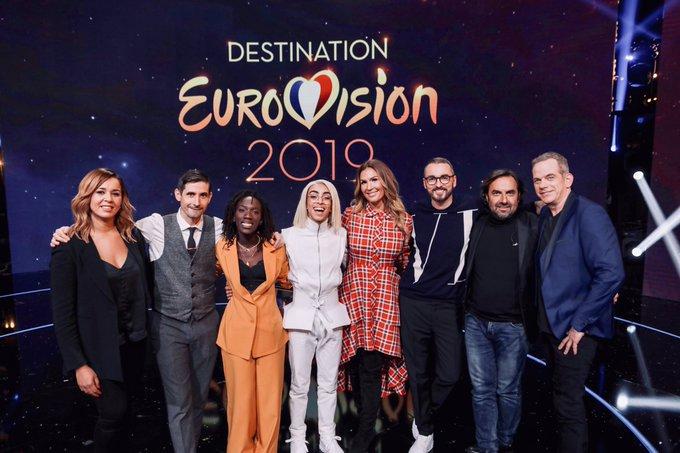 #DestinationEurovision rayonne sur l'ensemble des plateformes digitales: • La chaîne YouTube dépasse 4,3 millions de vues • vues pour le facebook live • 4 chansons classées dans le top iTunes • Avec tweets, sujet le plus commenté au monde samedi Photo