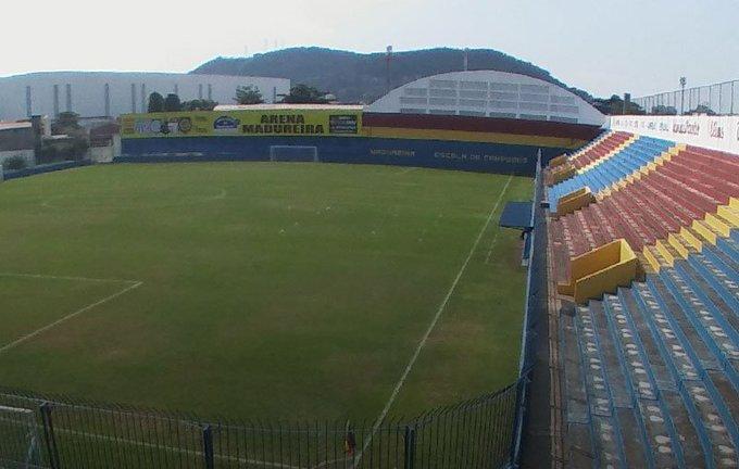 .@MadureiraEC_BR define Conselheiro Galvão como estádio do jogo contra o @VascodaGama pelo Carioca. Foto
