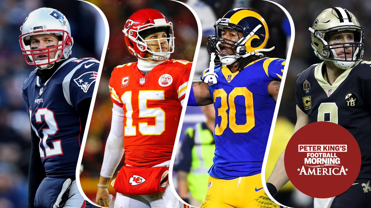 Peter King On Twitter What I Wrote In Week 6 If We Re Lucky We Ll Get A Chiefs Patriots Rematch More In My Early Breakdown Of Rams Saints And Lucky Us Pats Chiefs Https T Co Pqvrwrpnbj Https T Co Ku0m2cugvo