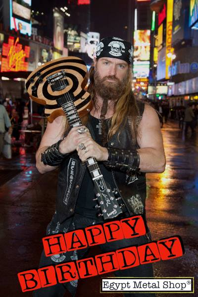 Happy Birthday, Zakk Wylde!