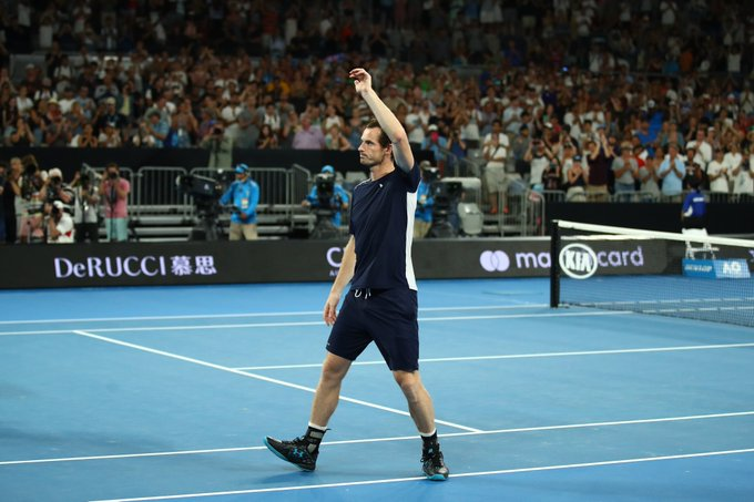NEW PODCAST! #AusOpen Day 1 - Murray Rolls Back Years In Glorious Defeat - Perfect Goodbye, Or A Stepping Stone To Wimbledon? Listen – Download – Spotify – iTunes - Photo