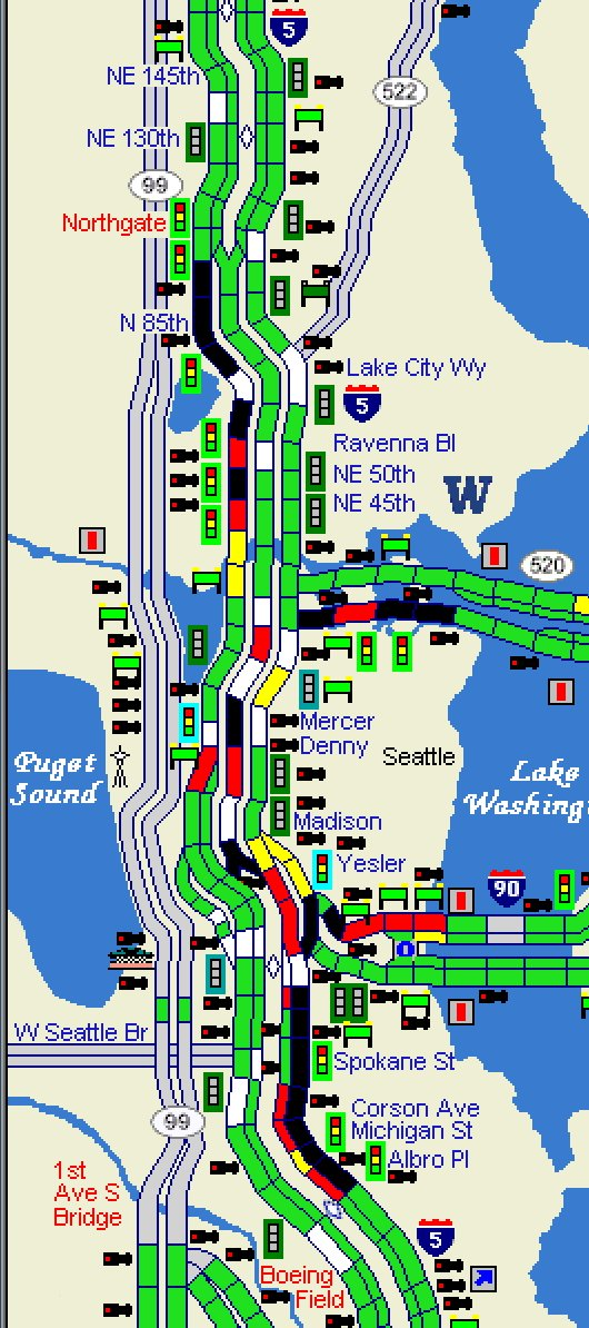 Wsdot Traffic On Twitter Travel Times Into Seattle Are Now Fairly