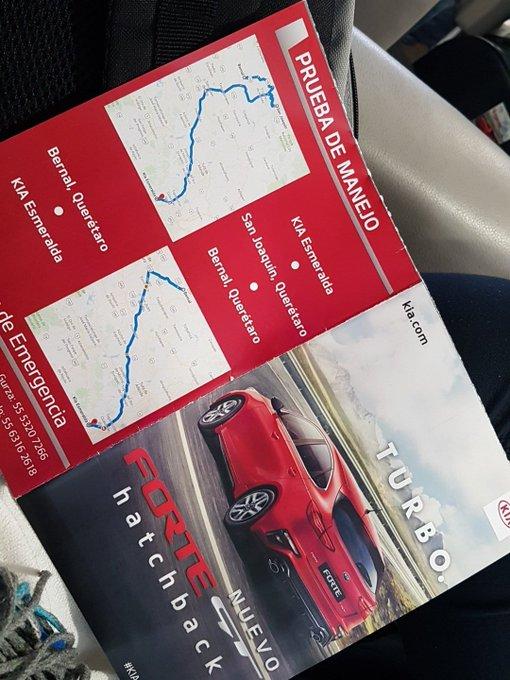 Lunes de Prueba de manejo con @KiaMotorsMexico y #KiaForte @AutosDesign Foto